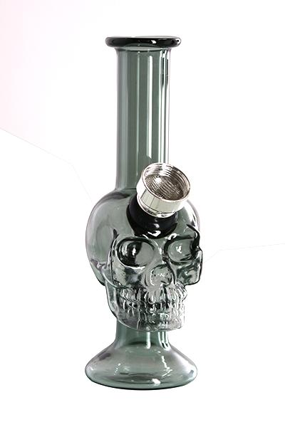 Champ High Color Mini Skull Glaspfeife Schwarz